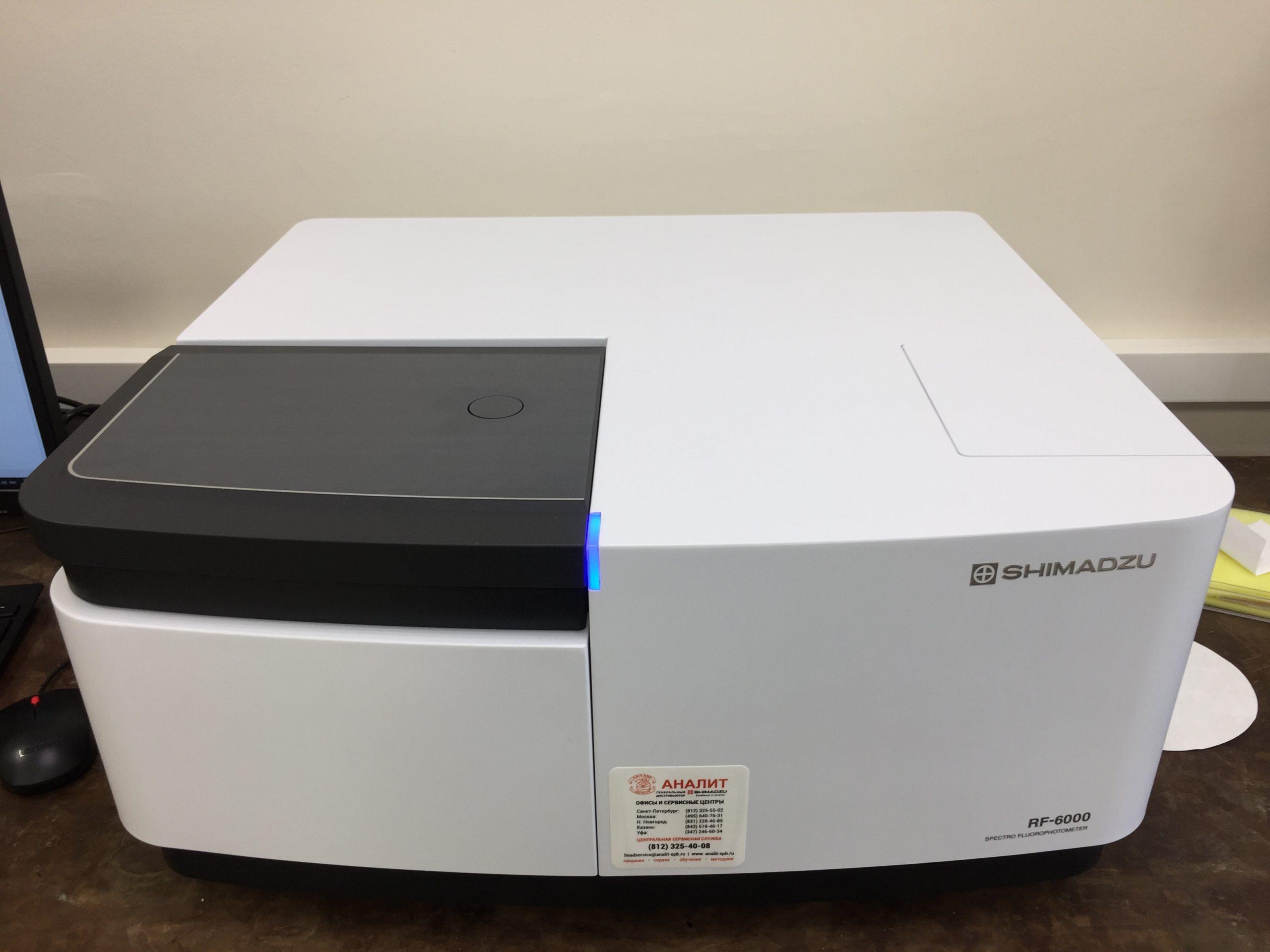 Спектрофлуориметр Shimadzu RF-6000